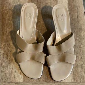 Donald J. Pliner Tan Sandals